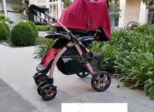 عربايات شارع للاطفال جديد مكفول خامة ثقيله وضعية نوم بسعر 50 دينار توصيل مجاني