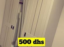 مكتب وخزانة من هوم سنتر استعمال خفيف بسعر 1000 درهم قابل للتفاوض ، جهاز رياضه
