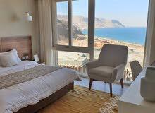بفيو بانوراما ع البحر شالية للبيع في العين السخنة في قرية المونت جلالة ( panorama view chalet )
