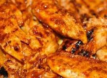 اكلات دايت ستيك دجاج مع الرز وستيك لحم عجل عراقي
