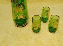 شربة ماء زجاج قديم لعشاق القديم السعر قابل