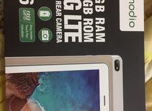 للبيع تابلت modio 16 GB rom+ 2GB ram 4G LTE