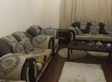 للايجار شقة مفروشة بالشارقة القاسمية غرفة وصالة فرش سوبر ديلوكس