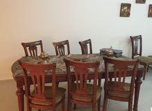 طاوله طعام 8 مقاعد