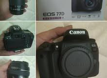 كاميرا كانون 77دي Camera EOS 77D