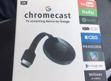 cromecast  للبيع تنقل محتوى الهاتف الى شاشة  موجود عندي  2