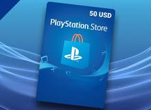 50 PSN For US account