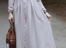 فستان رصاصي