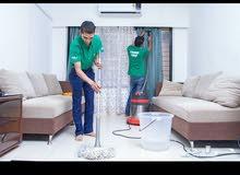 تنظيف فلل وعمائر وخزانات ومكافحة حشرات وعزل الخزانات ضد تسريب المياه