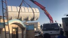 نقوم بتفصل خزانات ماء للمزاع بحجم 3000 جالون وفوق