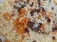 طباخ بخاري ومعلم مشويات مقبلات رز مبهر رز شعبي. ايدمات