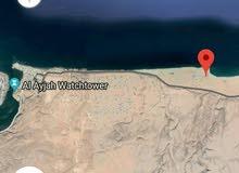 للبيع ارض سكنية في ولاية صور شياع 968م2  ثاني خط من البحر ذات اطلالة ساحرة على البحر