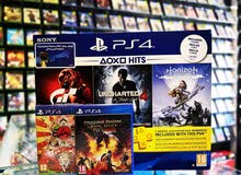 PS4 500 gb + 5 games at best price in gamerzone