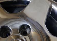 رنجات لكزس Ls 430 اصيل مصبغ دبل  كروم نطيف جدا جداا