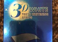 لاصقات تبيض اسنان