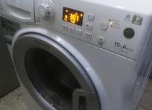 غساله فل اريستون 10كيلو 1400دورة A +++نظام توفير كهرباء وماء