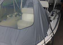 قارب مططاطي ارضية فايبر نوع جراند Grand Rib Boat