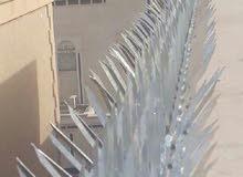 مكافحة حمام تركيب طارد حمام اشواك وشبك من الاستيل الالماني المضاض للصدا