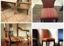 تصنيع كراسي وطاولات خشب زان للفنادق والمطاعم والشركات 0547144005