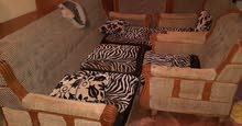 صالون كرسي كبير و 4 كراسي فردي