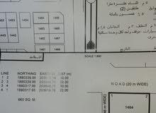 ارض للبيع صحنوت الشماليه مربع د