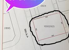 للبيع أرض في مدينة حمد دوار11