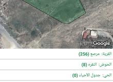 قطعة أرض على شارع رئيسي شارع عمان جرش جميع الخدمات من المالك مباشرة
