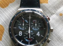 ساعة سواچ جديدة جداا واستعمال قليل كما موضح بالصورة