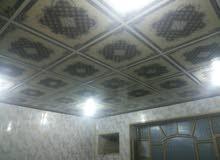 ديكورات غرف سقوف ثانوية وتغليف جدران