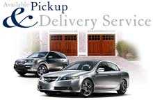 Pick up drop off delivery