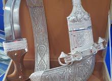 خنجر عمانيه مع نصلين سعيدي و عماني