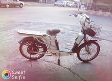 دراجه كهربائية حديثه بحاله ممتازه جدا بسعررر مغررري جدا