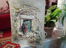 لوحات فنية عن التراث الاردني والعربي