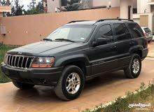 جيب النمر موديل jeep grand cherokee 2002