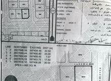 ارض للبيع في الفليج كورنر مساحة 662