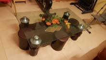 Tempered Glass Table with 4 stools available