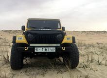 For sale 2005 Yellow Wrangler