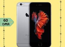 بسعر مخفض ايفون 6s ذاكرة 128GB فقط 60 ريال مع ضمان تبديل