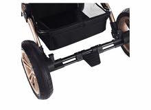 عربة اطفال مستعملة استعمال خفيف بحالة جيدة