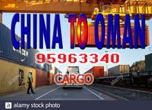 from china to oman