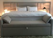 جميع انواع السرير التنجيد تفصيل كل المقاسات