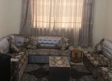 غرفه وصاله مفروشه للايجار الشهري في عجمان الروضه قريب من شارع الشيخ عمار