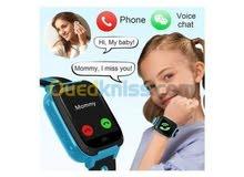 ساعة ذكية للصغار يوجد منفذ شريحة ومكالمات وكشاف وكميراءوالعاب ومزيد من المفاجات