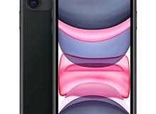 آيفون 11 بلون أسود يدعم تقنية 4G وذاكرة 128 جيجابايت (2021 - علبة هاتف رفيعة)