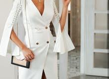 فستان بلايزر متوفر باللون الاسود