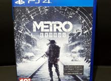 لعبة metro exodus  ps4