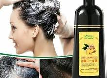 شامبو صبغة الشعر الطبيعي موكيرو mokeru بالزنجبيل