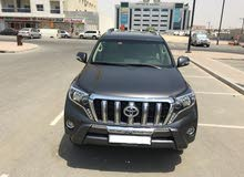 Toyota Prado 2017  is in a perfect and excellent condition