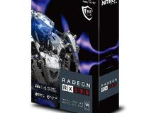 Sapphire nitro + rx 580 8 gb