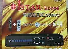ISTAR satellite receiver x20000 combo